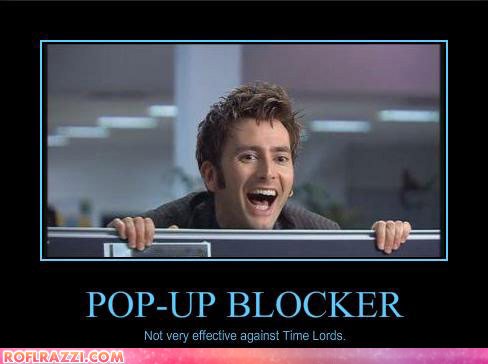 'Doctor Who' LOLs! :D