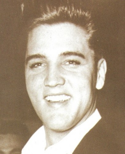 Elvis Presley Hintergrund probably with a business suit and a portrait called ★ Elvis ☆
