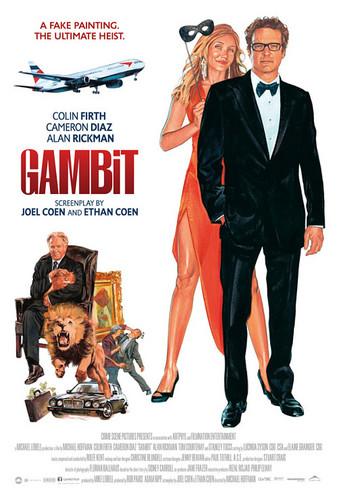 """""""Gambit"""" Poster"""