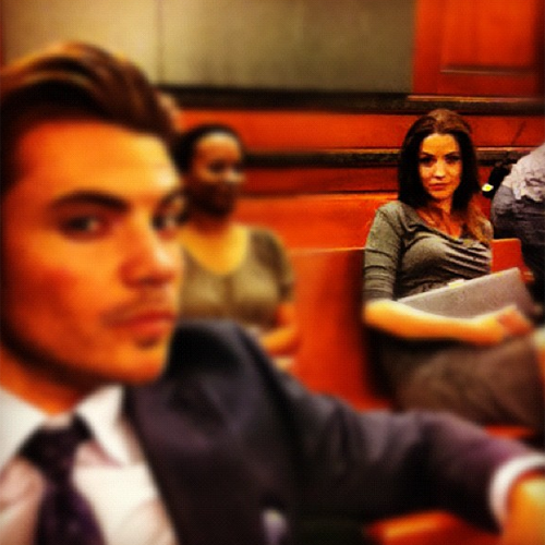 Josh Henderson kertas dinding with a business suit titled ♥ Josh & Julie Gonzalo ♥