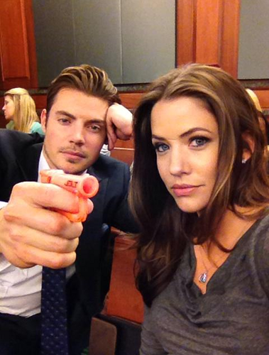 Josh Henderson wallpaper called ♥ Josh & Julie Gonzalo ♥