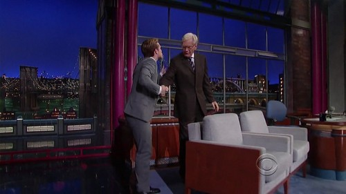 Late 表示する with David Letterman - Screencaptures [HQ]