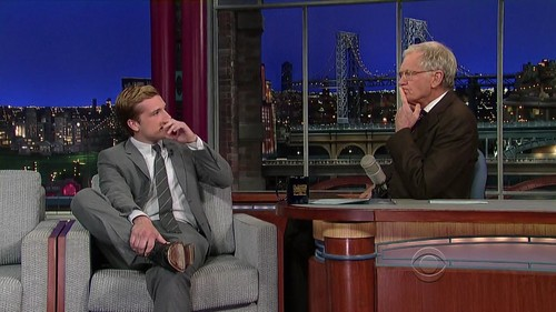 Late mostra with David Letterman - Screencaptures [HQ]