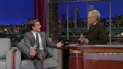 Late दिखाना with David Letterman - Screencaptures [HQ]