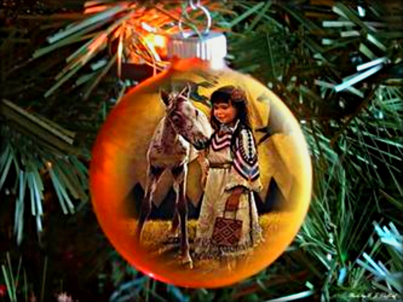 Indigenous christmas wall decor : Niibaa anami egiizhigad christmas wallpaper