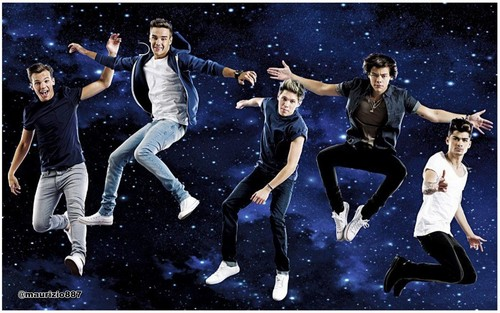 One Direction' photoshoots for te Magazine.