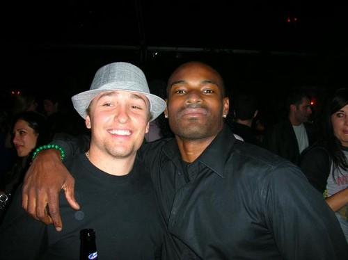 (Tyson Beckford) and (David Groener)