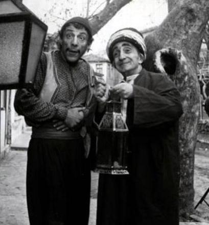 İsmail Dümbüllü and Münir Özkul