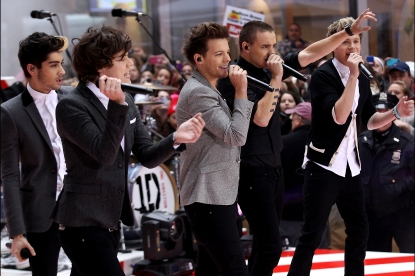 1D on the Today Show!!!!