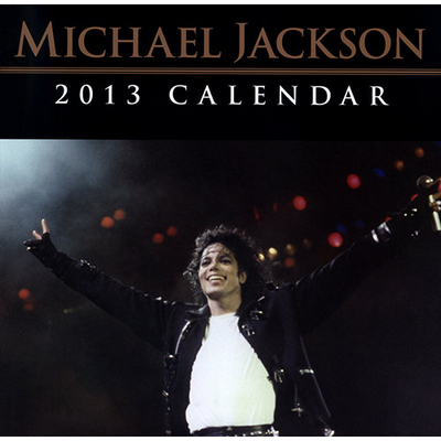 2013 Michael Jackson Calendar