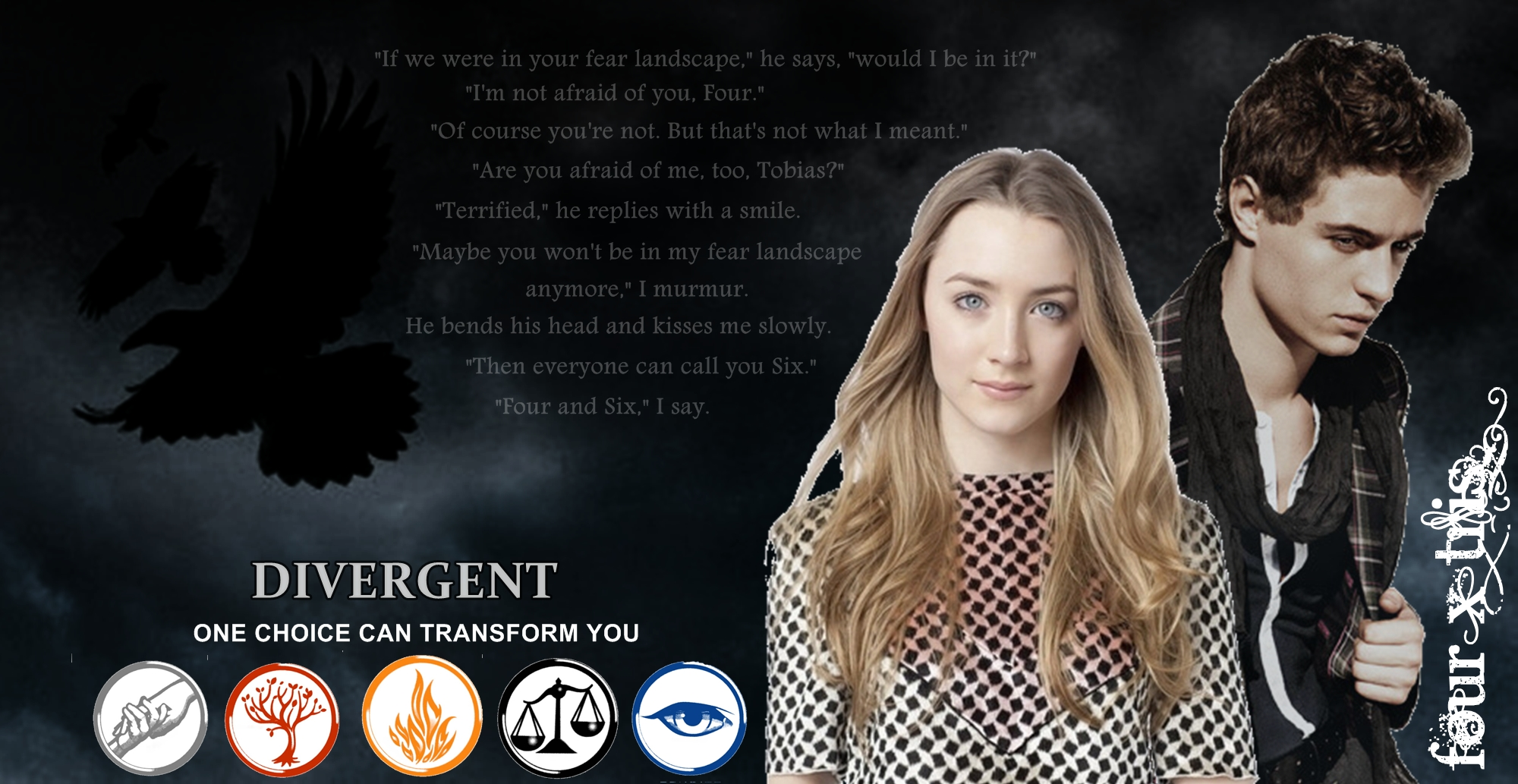 Divergent Quotes Tris And Four. QuotesGram