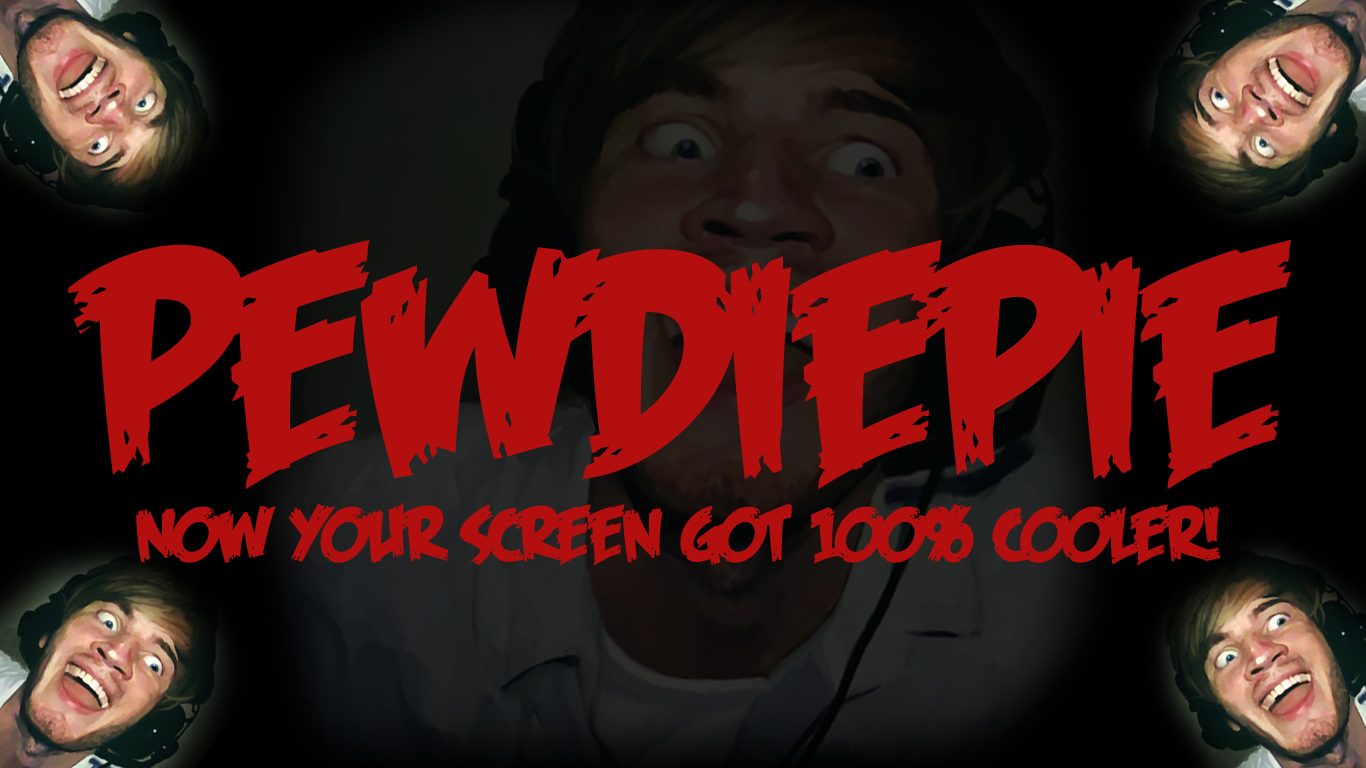 A Pewdiepie Wallpaper I Made For You Brofist Ladyemzy16