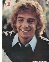 """A Vintage Barry Manilow Poster From The """"'70's"""