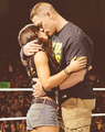AJ AND JOHN - john-cena photo
