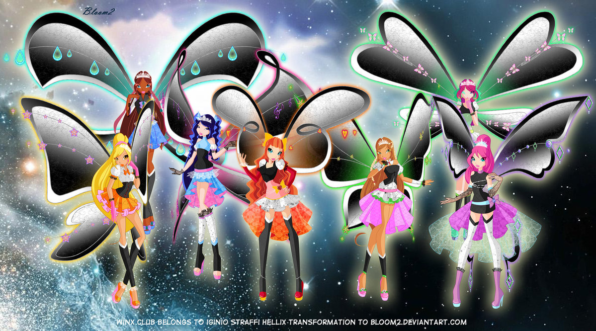 The winx club all winx hellix transformations