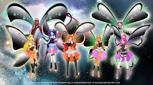 All Winx Hellix Transformations