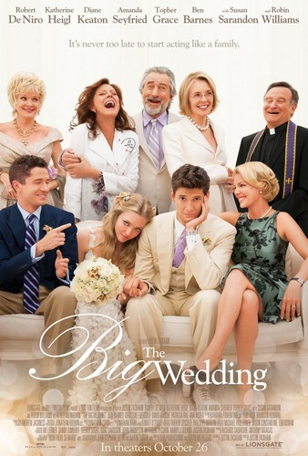 "Amanda in the upcoming movie ""The Big Wedding"""