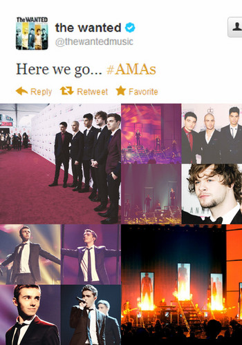 American muziki Awards The Wanted