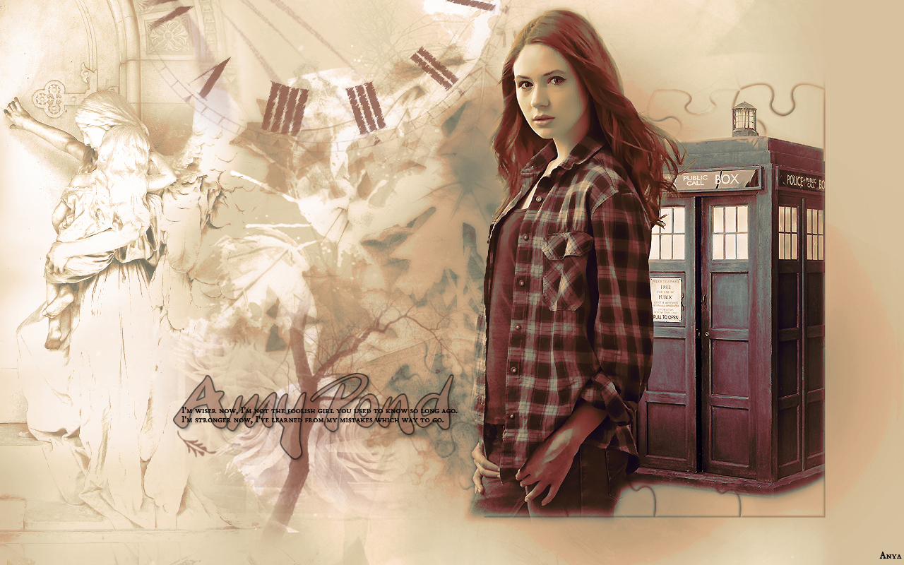 drewjoana and no1drwhofan images amy pond wallpapers! hd wallpaper