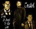 castiel - Angel of the Lord wallpaper