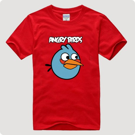 Angry bird short sleeve T シャツ