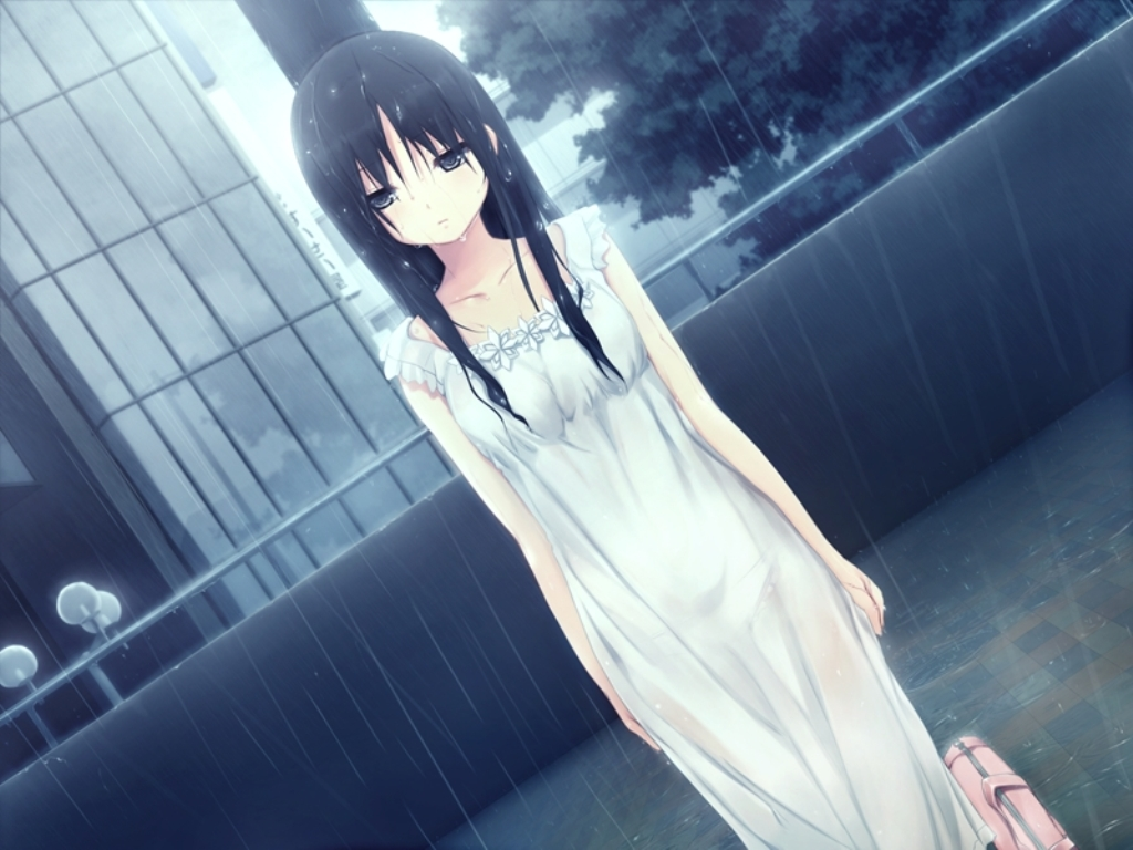 Cartoons pic of rainy day images amp pictures becuo - Ghost Girl In The Rain Favourite Anime Images Pinterest Google Images Anime And Manga