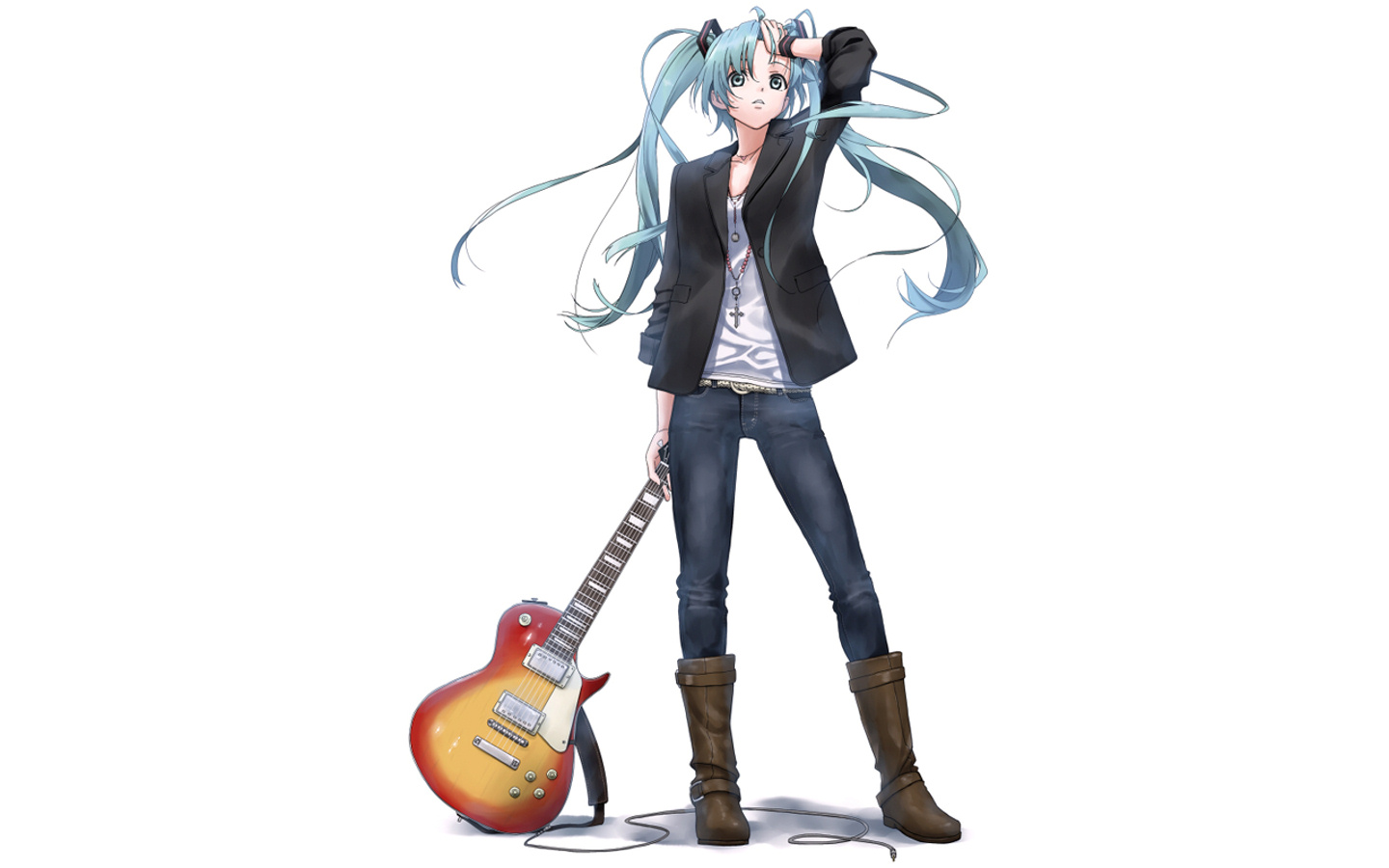 Anime Girl Guitar Pictures, Images & Photos | Photobucket