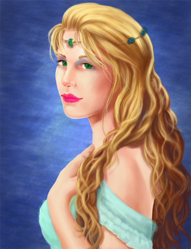 Aphrodite: Goddess of amor
