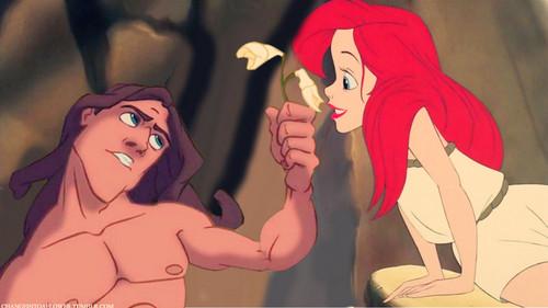 Ariel/Tarzan.