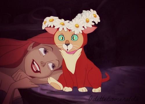 Ariel and Dinah