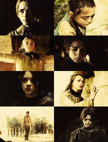 Arya Stark + Yellow Picspam