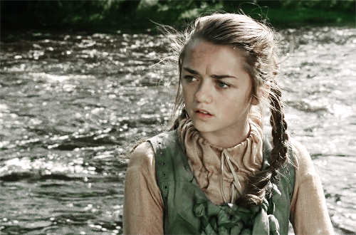 艾莉亚·史塔克 壁纸 probably with a portrait called Arya Stark