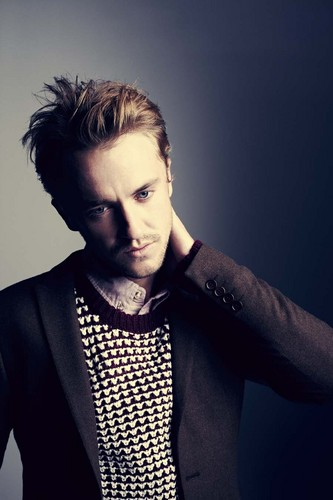 Tom Felton wallpaper probably containing a well dressed person and an outerwear entitled Asos Magazine Photoshoots