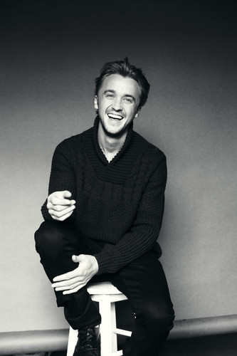 Tom Felton wallpaper possibly containing a hip boot titled Asos Magazine Photoshoots