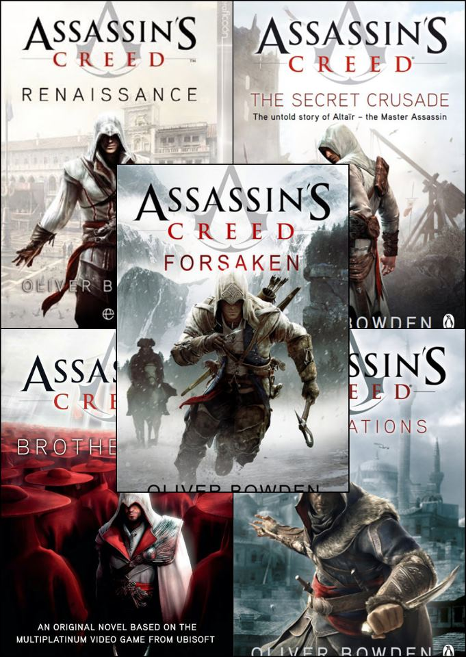 Assassin's Creed (book series) - Wikipedia