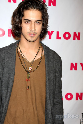 Avan Jogia wallpaper probably containing a cardigan, a pullover, and a well dressed person titled Avan