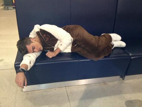 "Awww Josh Asleep In His Onesie (Teddy Bear) ""Perfect In Every Way"" :) 100% Real ♥"