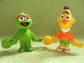 Baby Oscar and Bert figures - oscar-the-grouch photo