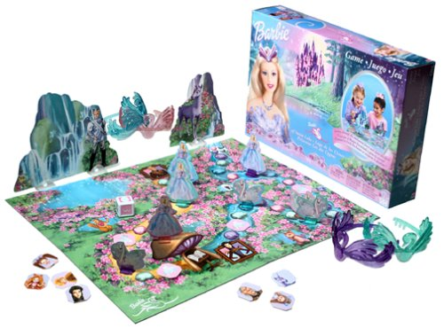 búp bê barbie of thiên nga Lake - Game Board