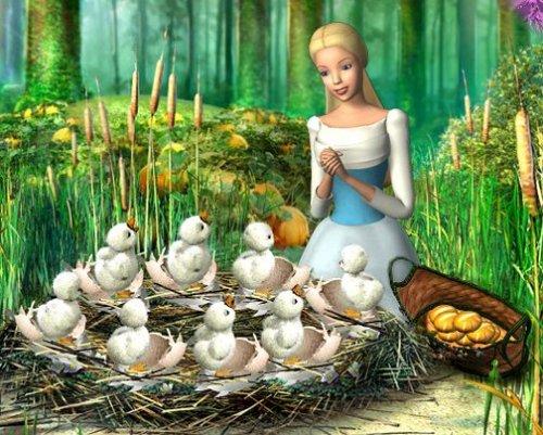 バービー of 白鳥, スワン Lake: The 魔法にかけられて Forest