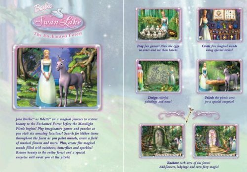 Barbie of sisne Lake: The Enchanted Forest