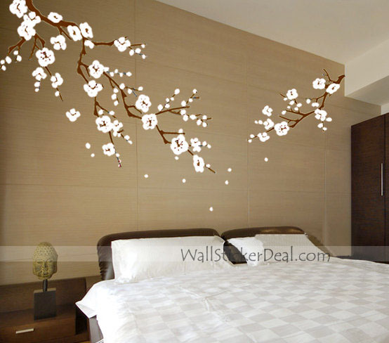 Beautiful cherry blossom branches wall stickers home decorating photo 32877500 fanpop Home decor images