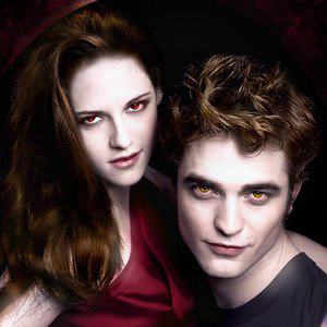 Twilight Series wallpaper containing a portrait called Bella & Edward