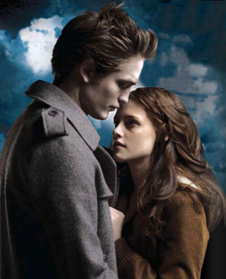 la saga Twilight fond d'écran with a well dressed person called Bella & Edward