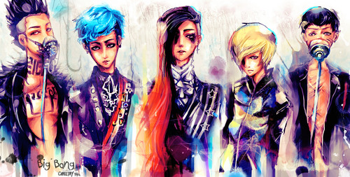 Big Bang fanart