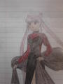 Black Lady. (Rini). - sailor-moon fan art