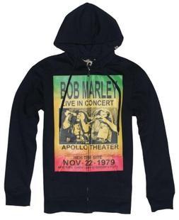 Bob Marley LIVE IN সঙ্গীতানুষ্ঠান zipper hoodie