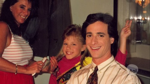 Full House wallpaper entitled Bob Saget & Jodie Sweetin