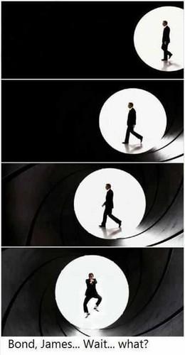 Bond, James Bond...What ?