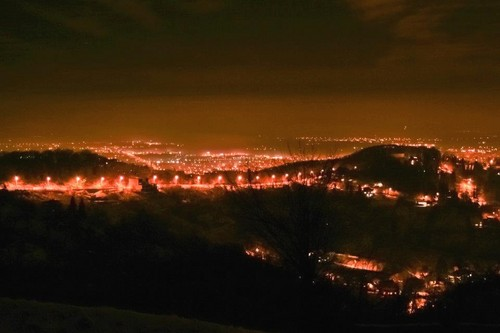 Brasov Romania cities beautiful night landscapes Transylvania scenery romanians